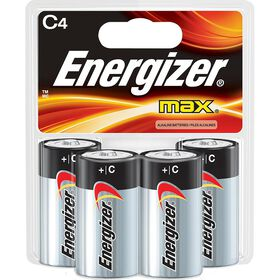 Energizer Max - C Batteries - 4 Pack
