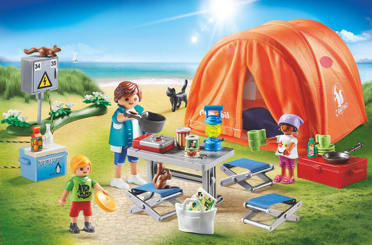 Playmobil Family Camping Trip 70089