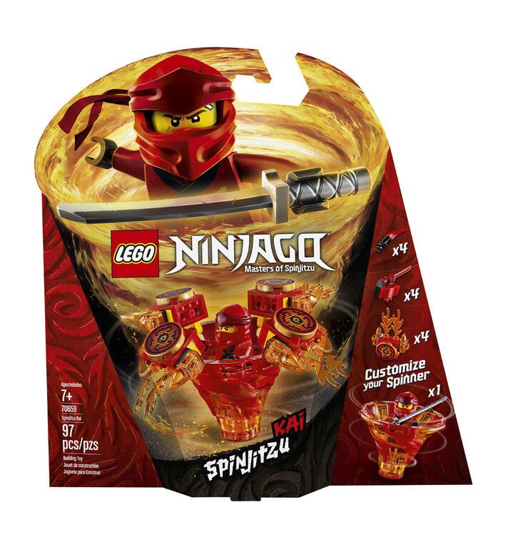LEGO Ninjago Toupie Spinjitzu Kai 70659