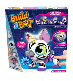 Build A Bot - Light Up Zebra