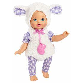 Little Mommy - Mon bébé costumé - Poupée Agneau de rêve.