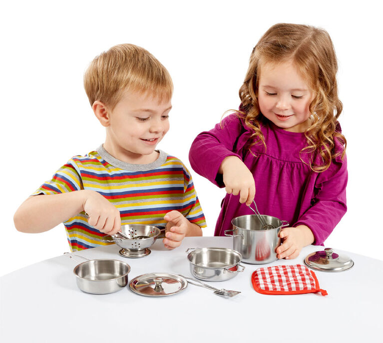 Busy Me - My Pots and Pans Playset - R Exclusive