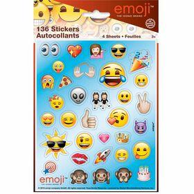 Emoji Feuilles d'autocollants, 4un