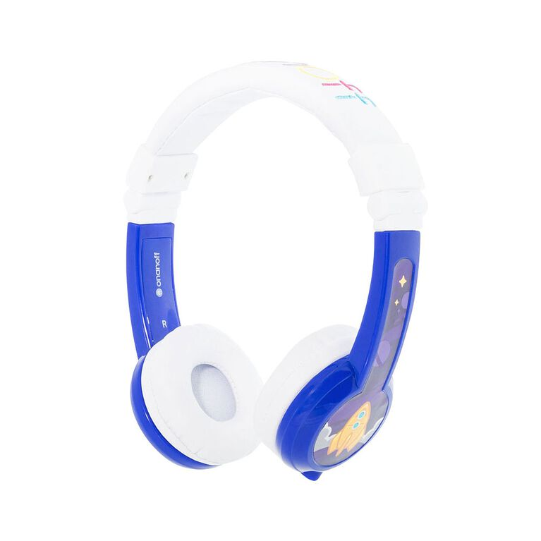 BuddyPhones Explore Foldable with Mic - Blue