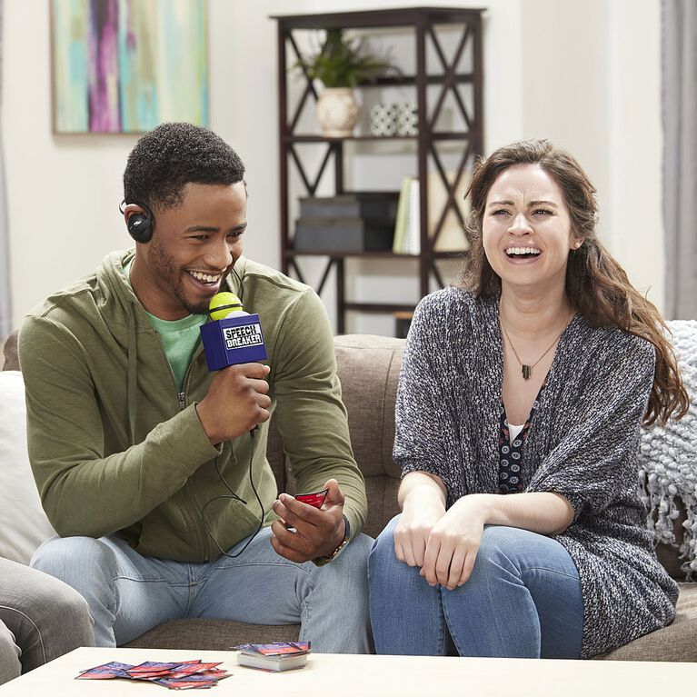 Hasbro Gaming - Jeu Interférences - Version anglaise - Édition anglaise.