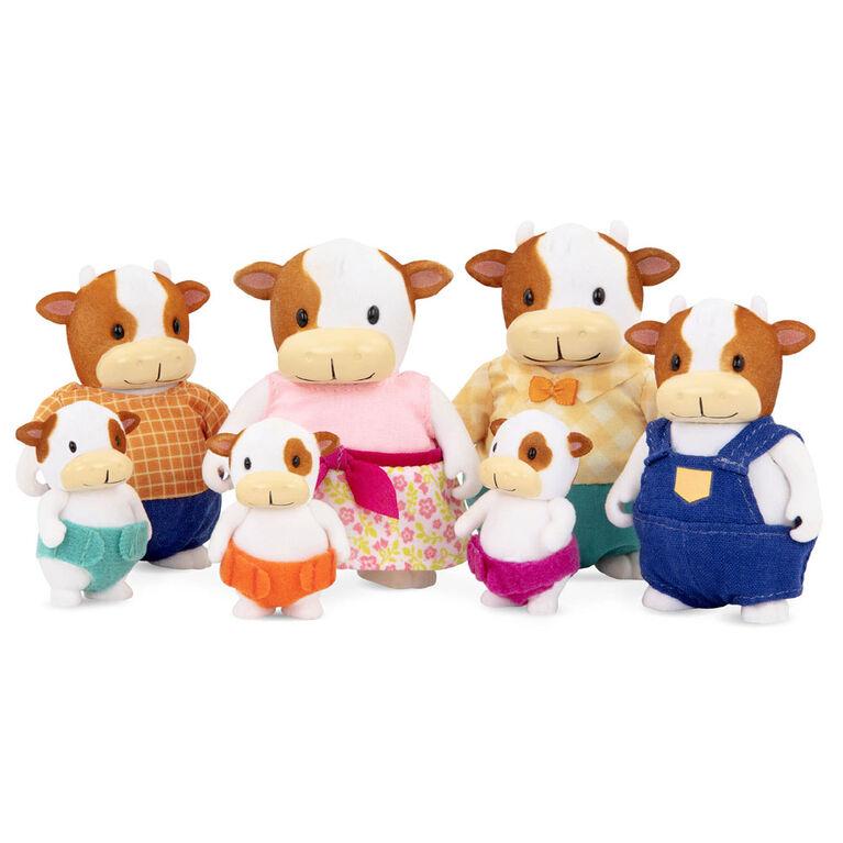 Fitzmoo Vaches, Woodzeez, Ensemble de petites figurines de vaches