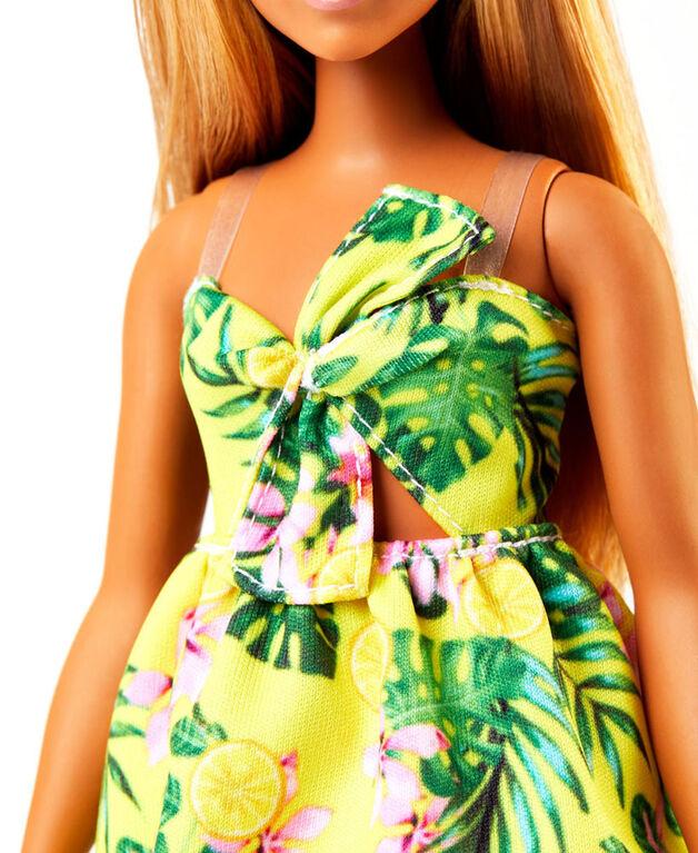 Barbie Fashionistas Doll #126 - Jungle Dress