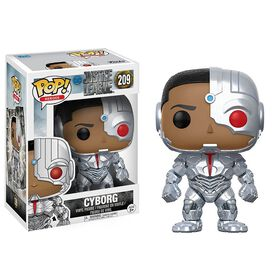 Funko POP! Movies: DC Justice League - Cyborg Vinyl Figure