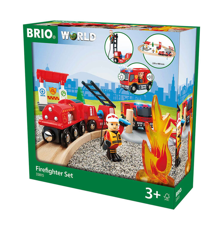 BRIO Firefighter Set - English Edition