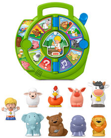 Fisher-Price - Little People - See 'N Say - Édition anglaise - Notre exclusivité