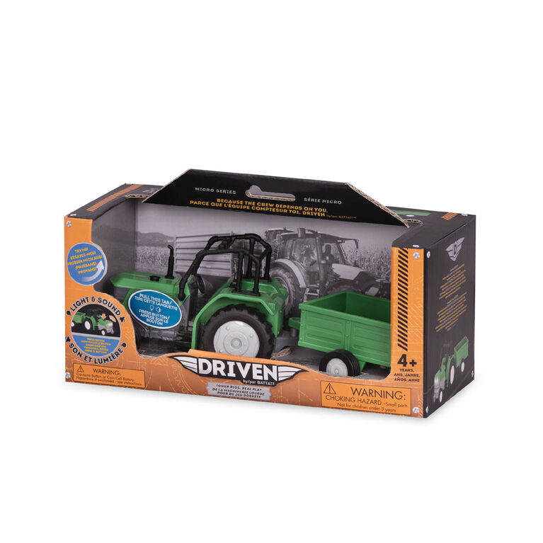 Driven, Toy Tractor with Trailer