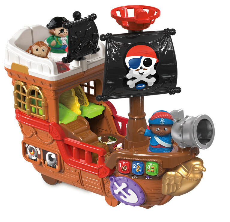 VTech Treasure Seekers Pirate Ship - Exclusive - French Edition