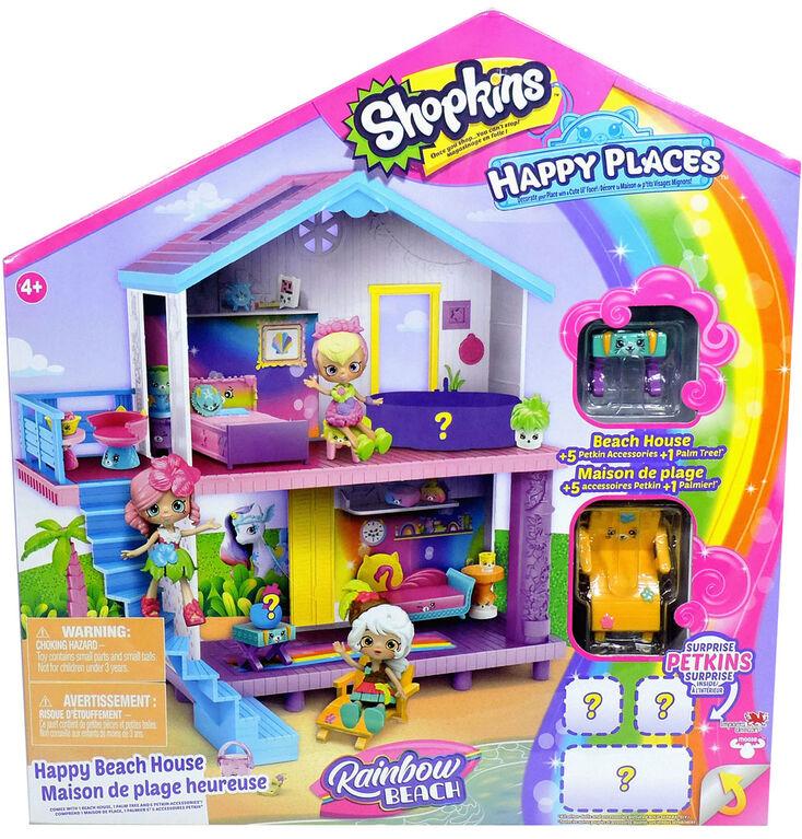 Shopkins Happy Places Season 5 Beach House Playset