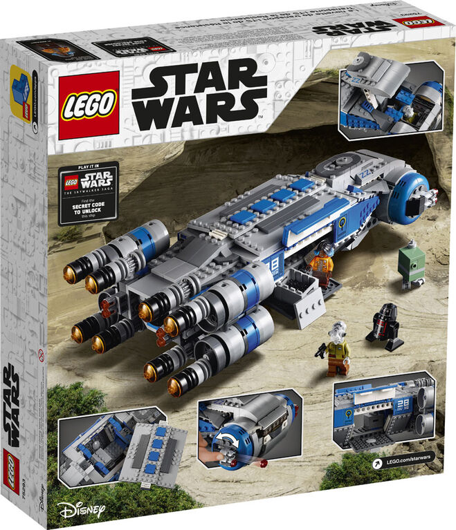 LEGO Star Wars Resistance I-TS Transport 75293 - R Exclusive