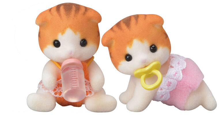 Calico Critters-Maple Cat Twins