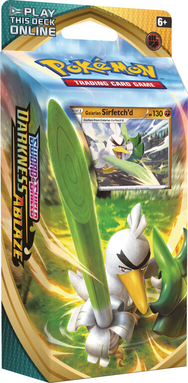 "Pokemon Sword & Shield 3 ""Darkness Ablaze"" Theme Deck-Sirfetch'd"