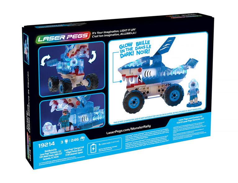 Laser Pegs Monster Rally - Thrasher