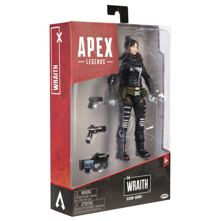 """Apex Legends: Season 1- Wraith 6"""" Action Figure"""