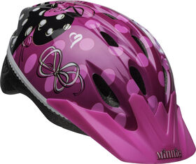 Minnie Mouse- Child Bike Helmet - Fits head sizes 50 - 54 cm