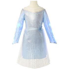 Frozen II - robe avec détails de mer sombre - R Exclusif