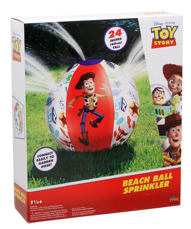 Toy Story Beach Ball Sprinkler