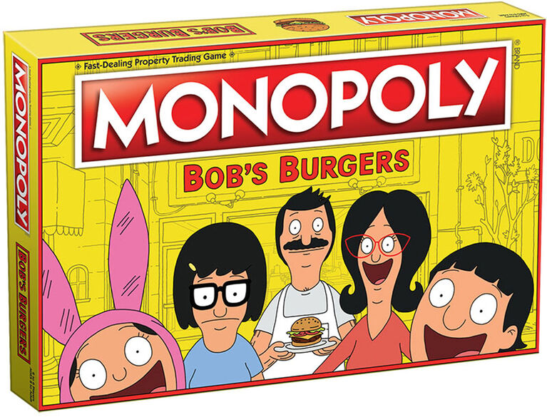 Monopoly Game: Bob's Burgers Edition