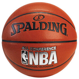 Spalding basket-ball avec logo d'équipe All Conference, taille 7