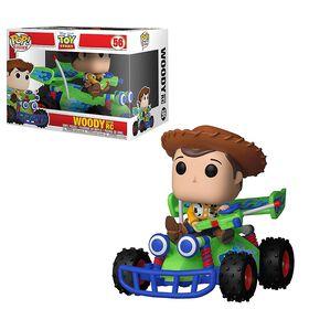 Figurine en vinyle Woody avec RC de Toy Story par Funko POP!.