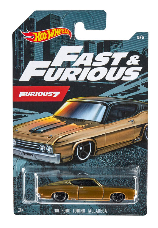 Hot Wheels - Véhicule '69 Ford Torino