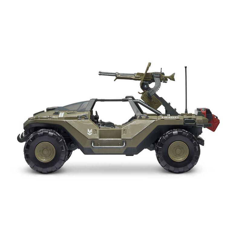 "Halo Deluxe Vehicle (4"" Figure & Vehicle) - Warthog & Master Chief"