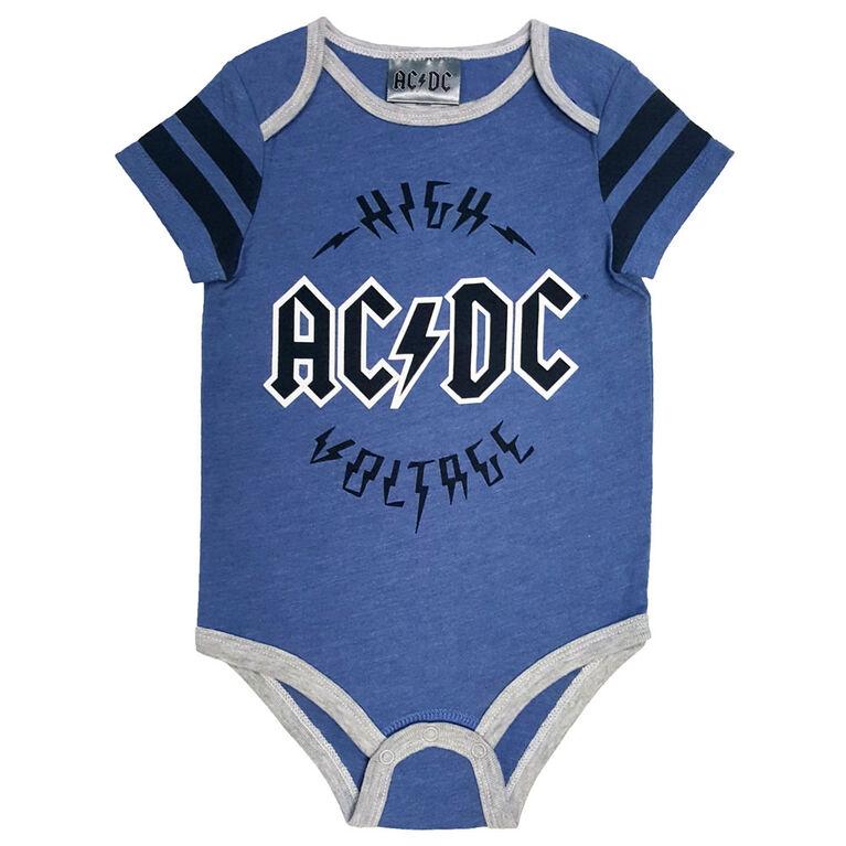 ACDC Bodysuit  - 6-12 Months