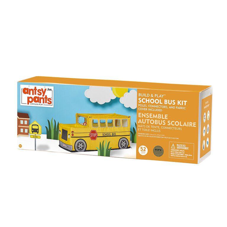 Antsy Pants Build & Play Kit - School Bus