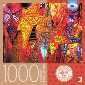 Artiste : Anatoli Styf - Casse-tête de 1 000 pièces - Étoiles colorées.