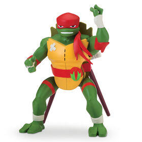 Rise of the Teenage Mutant Ninja Turtles - Raphael Side Flip Ninja Attack Deluxe Action Figure
