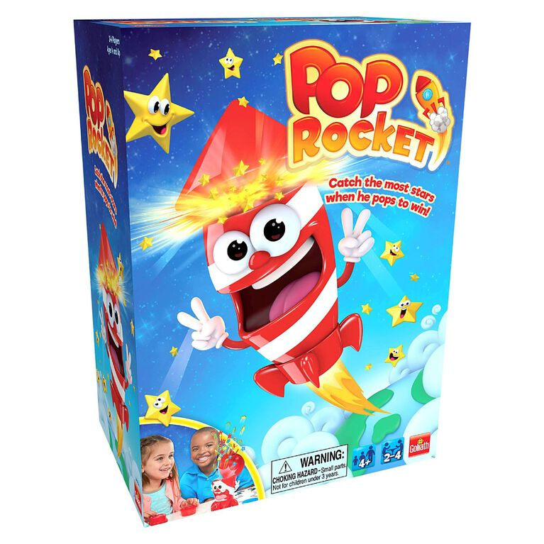 Pressman Toys - Jeu Pop Rocket.