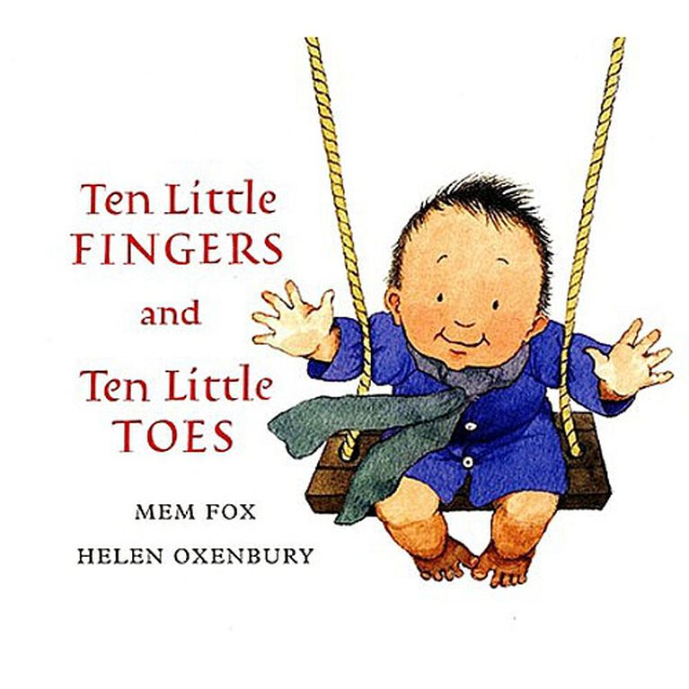 Ten Little Fingers and Ten Little Toes Board Book - English Edition