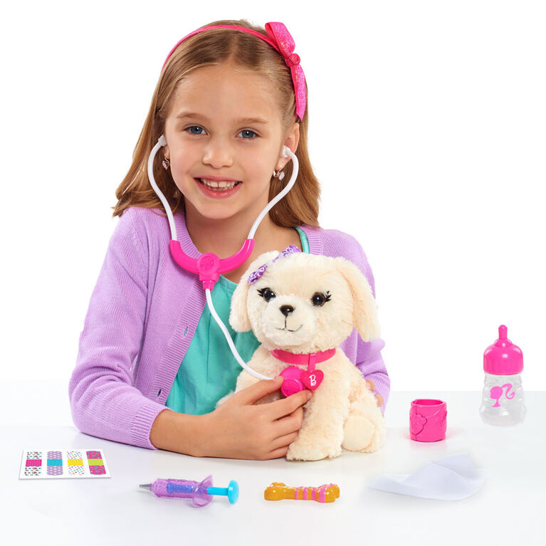 Barbie Vet Bag Set Labradoodle