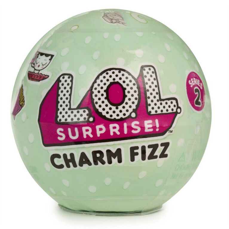 L.O.L. Surprise Charm Fizz Ball Series 2