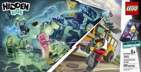 LEGO Hidden Side Paranormal Intercept Bus 3000 70423