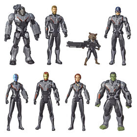 Marvel Universe Collection Titan Hero Titan Power FX Team 8-Figure Pack - R Exclusive