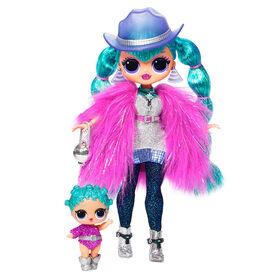 L.O.L. Surprise! O.M.G. Poupée-mannequin Winter Disco Cosmic Nova avec sa soeur - Édition anglais