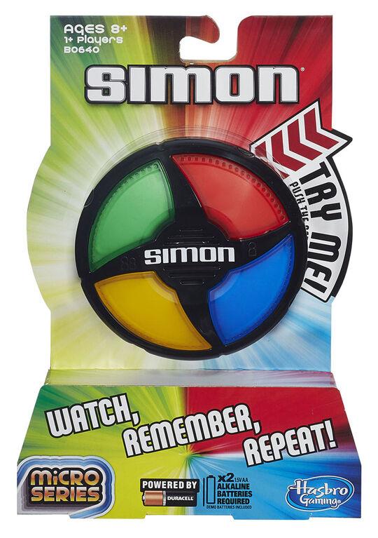 Hasbro Gaming - Simon Micro Series Game - English Edition