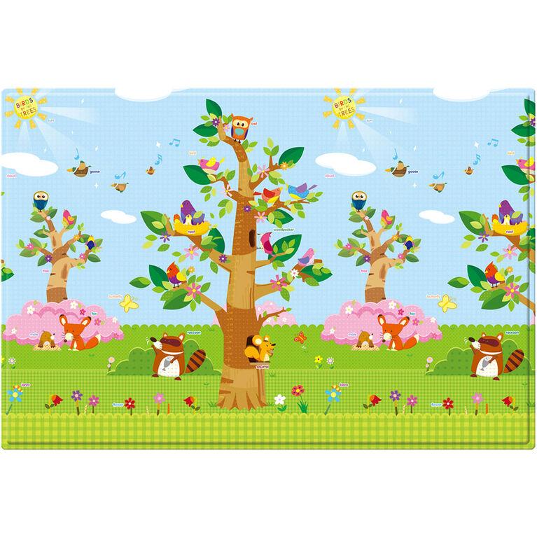 Tapis de Jeu BabyCare- Oiseaux dans les arbres - Large.