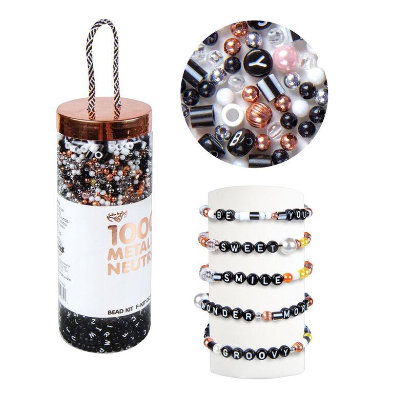 perles à emporter - métalliques
