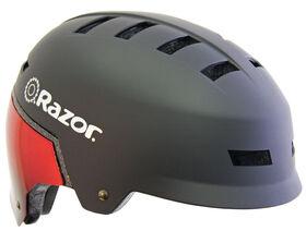 Casque de Vélo Razor - Pour Jeunes 8+ Rouge/Noir