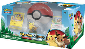 Pokémon Pikachu & Eevee Poke Ball Collection