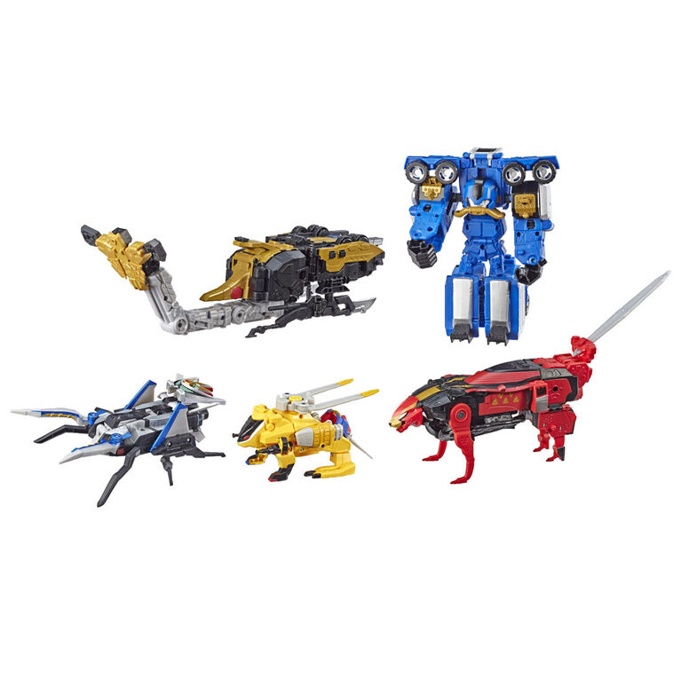 Power Rangers Beast Morphers Collection ultime Ultrazord Beast-X