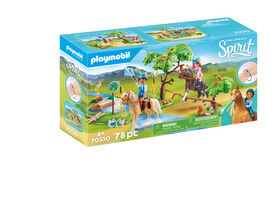 Playmobil Spirit River Challenge 70330