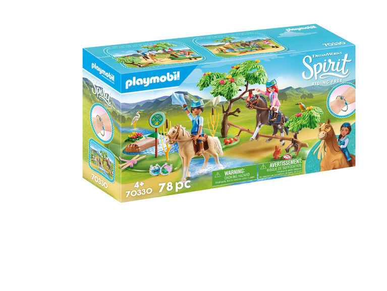 Playmobil Spirit River Challenge 70330