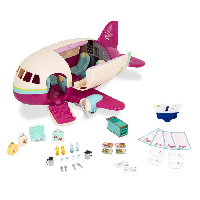 Honeysuckle Airway, Li'l Woodzeez, Avion avec accessoires